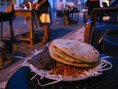 street food in Honduras