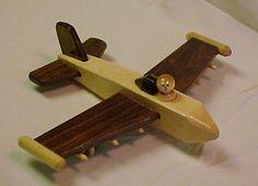 Wooden Toy Jet