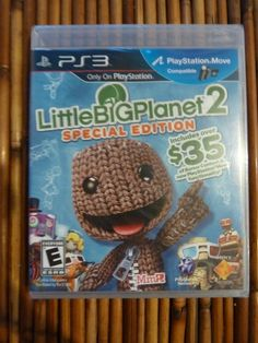 Little Big Planet 2 PS3 NEW Sealed Complete with Manual Video Game Never Played Buy It Now $26.99 Free Shipping