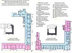 Buckingham+Palace+Private+Apartments | Plan of Buckingham Palace | Palatial Enclosure
