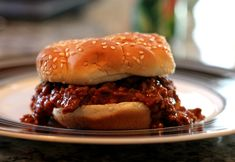 Weight Watchers Salsa Sloppy Joes - tastes better than the Manwich brand, and is much better for you!
