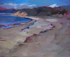 "8""x10"" plein aire oil painting by Maryann Lucas SOLD"