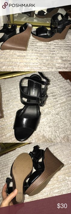 Daisy Fuentes Brand New Wedges Brand new never worn have two pairs Daisy Fuentes Shoes