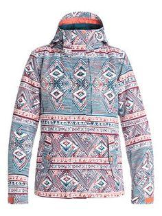 roxy, ROXY Jetty Snow Jacket, YOGA YOGII_LEGION BLUE (bsk5)