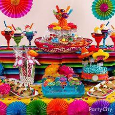 Festa Mexicana Sobremesa Idéias - Party City