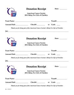 Example Of Charity Donation Receipts The IRS Speaks