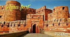 Agra fort #INDIA