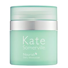 What it is:A refreshing hydrator with antiaging benefits.What it is formulated to do:Kate Somerville Nourish Daily Moisturizer is the perfect hydrating step for an effective skin care regimen. This light, sophisticated formula delivers brightness and