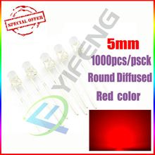 US $9.75 1000pcs 5MM Red LED light emitting diode Transparent Rount LED/ F5mm Red light LED Bule White Yellow Green. Aliexpress product