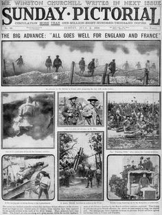 Sunday pictorial 2 July 1916