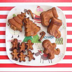 Muffins navideños de papa camote ultra esponjosos! ✨ se acerca Navidad, se me estaba muriendo una papa camote gigante (batata) y moría de ganas de ocupar mis moldes nuevos... Así que hice estos muffins que son lejos los más fácil de hacer! Receta: https://instagram.com/p/_Z38TYFWgo/  #muffins #navidad #christmas #snacks #saludable #healthy