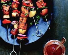 Vegetable & Tofu Kebab | Community Post: 21 Vegan Recipes To Make On Your Next Camping Trip