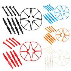 $4.40 (Buy here: https://alitems.com/g/1e8d114494ebda23ff8b16525dc3e8/?i=5&ulp=https%3A%2F%2Fwww.aliexpress.com%2Fitem%2F2016-New-Arrival-Syma-X8C-W-G-Spare-Parts-Set-4xPropeller-4xLanding-Gear-4xProtect-Ring%2F32648359152.html ) New Arrival Syma X8C/W/G Spare Parts Set 4xPropeller + 4xLanding Gear + 4xProtect Ringfor RC Quadcopter  RC Parts for just $4.40