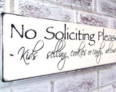 Exceptional Funny No Soliciting Sign, No Solicitation Yard Art, Front Door Welcome Sign,  Yard