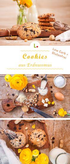 Lust nach etwas Nussigem? Dann probiert unsere mit Erdnussmus gebackene Cookies Rezept. Durch unsere Mandelmehle und Kokosmehle ist der Keks auch noch Low Carb und Glutenfrei. Für weitere Rezepte besucht unsere Website: https://lizza.de/pages/rezepte
