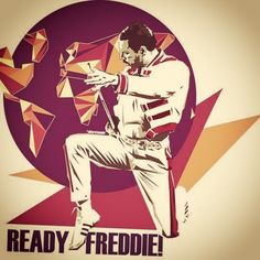 I am ALWAYS ready to Freddie! Miss you endlessly, every single day. You are always in my thoughts. I wish you were physically alive. Best Rock Bands, Cool Bands, Champions Of The World, Queen Art, Queen Freddie Mercury, John Deacon, Band Posters, Rock Legends, Rock Music