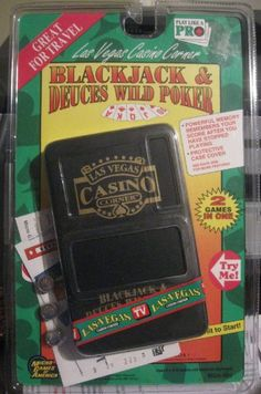 Las Vegas Corner – Blackjack & Deuces Wild Poker « Delay Gifts