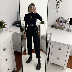 Neo Grunge, Grunge Style, Soft Grunge, Egirl Fashion, Grunge Fashion, Fashion Killa, Fashion Outfits, Grunge Outfits, Edgy Outfits