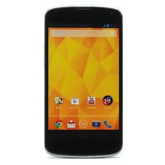 cool Nexus 4 E960 - 16GB - Black (Unlocked) Smartphone Check more at http://shipperscentral.com/wp/product/nexus-4-e960-16gb-black-unlocked-smartphone/