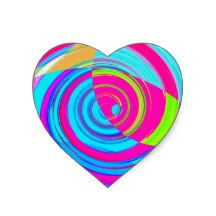 Re-Created Spiral Painting Heart Sticker #art #graphic #design #iphone #ipod #ipad #galaxy #s4 #s5 #s6 #case #cover #skin #colors #mug #bag #pillow #stationery #apple #mac #laptop #sweat #shirt #tank #top #clothing #clothes #hoody #kids #children #boys #girls #men #women #ladies #lines #love #vertices #polygons #diamonds #light #home #office #style #fashion #accessory #for #her #him #gift #want #need #love #print #canvas #framed #Robert #S. #Lee