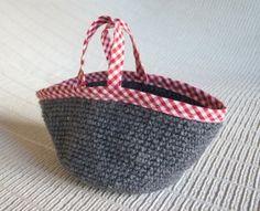 Crochet Work Bag