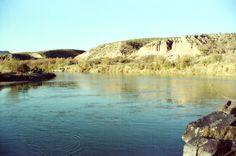 Rio+Grande | The Rio Grande River, with Mexico on the left bank and Texason the ...