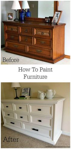 I've had lots of questions about how I painted the dresser in my Dresser Makeover post, so I thought I'd better get this follow up post to you quickly!  So, here it is – how to paint furniture – tips for getting a smooth finish.   Be sure to check out our How To Paint […]