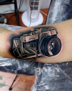 photography tattoos ideas - Google Search                                                                                                                                                      More