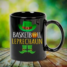 Basketball Leprechaun St Patricks Day Great basketball t shirt/mug/bag gift for family, friends, basketball players, basketball lovers or any women, men, girls, boys you know who loves basketball. Perfect basketball t shirt, funny basketball tshirts, Funny basketball Shirt for Men and Women, basketball shirt for women, basketball shirt for men, basketball gifts for teen girl boy. - get yours by clicking the link in my profile bio.