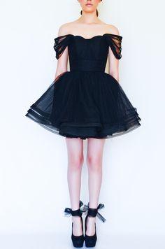 Cutie Dress Black - Silvia Bours