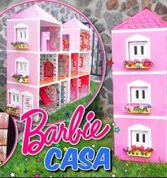 Készíts el egyszerű, filléres karton papír dobozokból egy ilyen gyönyörű Barbie baba házat! A kézzelkészült játékokmindig sokkalnagyobb örömet okoznak a gyereknek, hiszen szívvel készülnek.Ilyen ez a karton papírból készült csodálatosBarbie ...