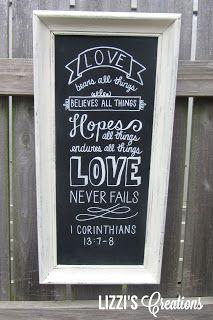 chalkboard art bible verse - Google Search