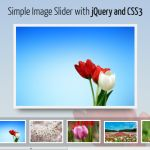 Simple Image Slider with jQuery and CSS3