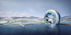 Ocean Imagination / Unsangdong Architects, Futuristic Architecture, Future Building