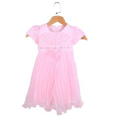 $22.09 (Buy here: https://alitems.com/g/1e8d114494ebda23ff8b16525dc3e8/?i=5&ulp=https%3A%2F%2Fwww.aliexpress.com%2Fitem%2F2017-Summer-toddler-girls-clothes-dresses-lace-fashion-Fold-bead-girl-toddler-clothes-dress-brand-toddler%2F32704020894.html ) 2017 Summer toddler girls clothes dresses lace fashion Fold bead girl toddler clothes dress brand toddler clothes dress for girl for just $22.09