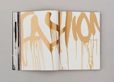 Fashion - #makeup #typographic treatment? Would be interesting.