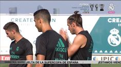 Video Real Madrid prepare for the visit of Barcelona in the Spanish Super Cup!