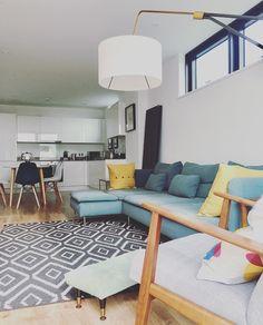 Söderhamn Sofa, Ikea Sofa, Couches, Ikea Soderhamn, Living Room Sofa, Coastal Living, Home Art, New Homes, Sweet Home