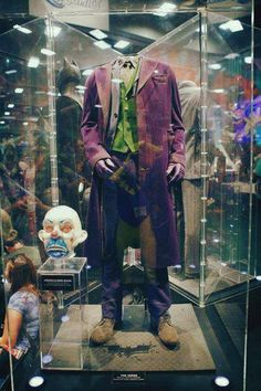 Original costume worn by Heath Ledger in  The Dark Night ... | -tapes u0026 takes- | Pinterest | Heath ledger Costumes and Joker & Original costume worn by Heath Ledger in