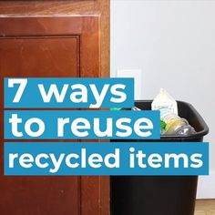 Create gorgeous home decor from recyclable items. You home will look chic and your wallet will thank you! bottle crafts videos 7 Ways To DIY With Recycled Items Recycled Decor, Repurposed Items, Upcycled Crafts, Diy Home Crafts, Recycled House, Recycled Tires, Recycled Bottles, Recycled Furniture, Handmade Furniture