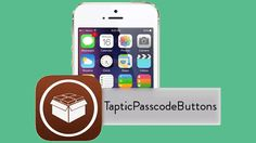 Añade capacidad háptica en los botones de contraseña de la pantalla de bloqueo con TapticPasscodeButtons (jailbreak)