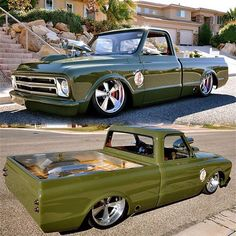 with a Supercharged 427 big block 67 Chevy Truck, C10 Trucks, Chevy C10, Pickup Trucks, Live For Speed, Speed Boats, American Muscle Cars, Amazing Cars, Awesome