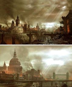 At World's End: 25 Post-Apocalyptic Artistic Visions   WebUrbanist