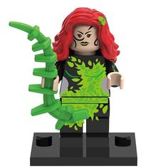 Block Minifigure Classic Batman Poison Ivy