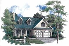 Eplans Country House Plan - Second-Floor Sitting Area - 1815 Square Feet and 3 Bedrooms from Eplans - House Plan Code HWEPL05256