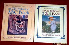 2 Preschool Elizabeth Ashton Picture Books An Old Fashioned 123 & ABC Ages 3-8