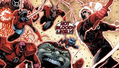 Red lantern corps / green lantern corps DC Comics  #Red #lantern #Green #Lantern #DC #heroes #atrocitus #bleez #cat #rage #blood