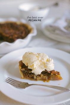 Seriously the best pecan pie! http://www.stylemepretty.com/living/2013/11/15/best-ever-pecan-pie/