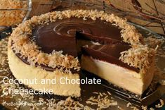 Cheesecake Recipe | Coconut and Chocolate Cheesecake Recipe
