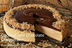 Cheesecake Recipe   Coconut and Chocolate Cheesecake Recipe